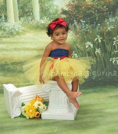Snow white princess tutu