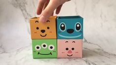 Very lovely Stich box.Step is not difficult,If you have interest,just try it. - Very lovely Stich box.Step is not difficult,If you have interest,just try it. Diy Home Crafts, Diy Arts And Crafts, Creative Crafts, Fun Crafts, Crafts For Kids, Cardboard Crafts Kids, Cardboard Box Crafts, Diy With Cardboard Boxes, Diy Paper