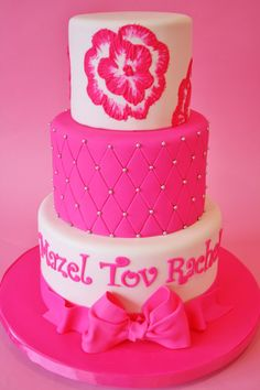 Bat Mitzvah Cakes Nj New Jersey  Sweet Grace Cake Designssweet Picture #3443