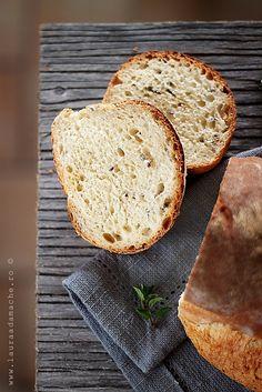 Paine cu iaurt si seminte de in / yoghurt bread w flaxseed