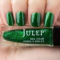 Julep - Cher (May 2015 birthstone) emerald iridescent shimmer
