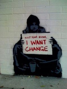 Mais um muro do Banksy
