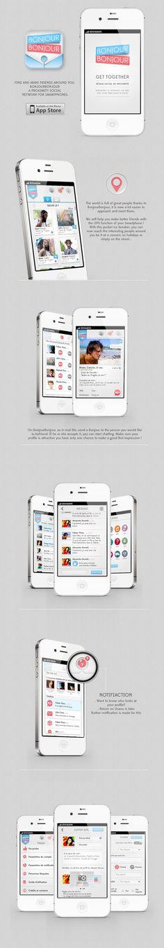 Bonjour Bonjour application réseaux social de proximité