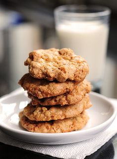 Walnut Butterscotch Cookies