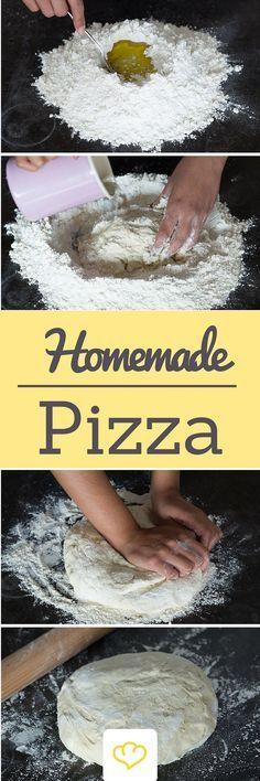 Mal ehrlich: Tiefkühlpizza schmeckt doch nicht wirklich! Wie du zuhause eine Pizza so lecker wie bei dem Lieblingsitaliener machst? Liest du alles hier!