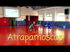Atrapamoscas. Juego de relevos con captura de jugadores - YouTube Physical Education Activities, Fun Games, Children, Kids, Physics, Acting, Kindergarten, Basketball Court, Youtube
