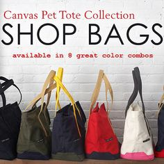 Canvas Dog Carrier in 8 Colors | Snazzy Jazzy Pet LARGE SIZE HOLDS UP TO 35 POUNDS!