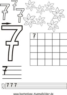 Die 128 Besten Bilder Von Zahlen Schreiben Kindergarten Preschool