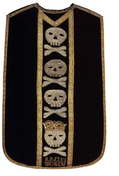 Funeral vestment , 1751, Pomerania, Poland