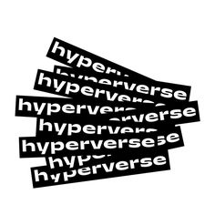 Hyperverse VR platform and branding Microsoft, Virtual World, Fairy Tales, Base Building, Logo Design, Typography, Branding, Black Holes, Vr