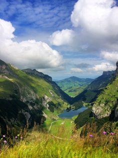 Seealpsee. Appenzell. Switzerland.