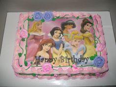 Disney Princess's Cake