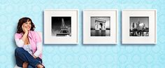 How to hang 3 frames horizontally