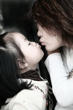 Kiss with Mom