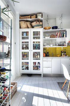 floor to ceiling storage.. no naff cupboards