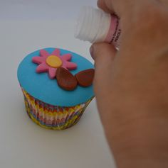 Passo a Passo: Cupcake Jardim de Páscoa criação Elisabeth Teodoro
