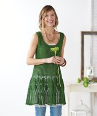 Six best #knitting and #crochet patterns for summer - Summer crafting is my favorite, and this dress is amazing!
