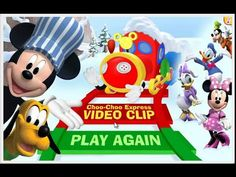 Mickey Mouse Clubhouse: Mickey's Choo Choo Express - Disney Junior Game