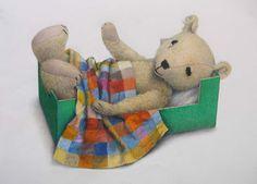 Jane Hissey, one of my favourite Illustrators! Vintage Children's Books, Art Images, Illustrators, Dinosaur Stuffed Animal, Teddy Bear, Children Books, My Favorite Things, Beautiful Things, Artist