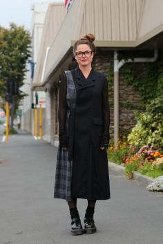 FOUREYES - New Zealand Street Style Fashion Blog - the dress is by Nom'D, a New…
