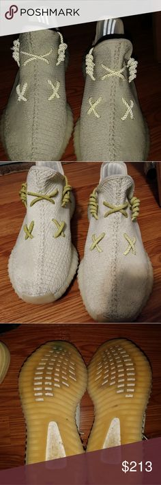 c01ffbbf825e1 Yeezy 350 V2 Butter The soles do have blue stains on the sides from coming  into