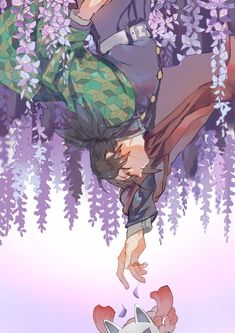 Image in anime-manga boy♣︎ collection by zillion Me Anime, Anime Demon, Manga Anime, Anime Art, Demon Slayer, Slayer Anime, Mein Crush, Anime Illustration, Boca Anime