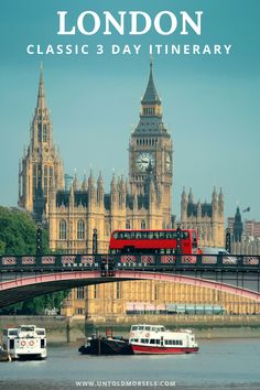 London travel guide: read and download our 3 day London itinerary. We created a classic itinerary that takes in all the bucket list things to do in London. From the Tower of London to Big Ben, pubs, restaurants and parks, this self guided tour has it all. Sign up to our news and download it for FREE #london #itinerary #bucketlist #travelguide