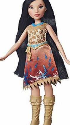 Disney Princess Royal Shimmer Pocahontas Doll Pocahontas is ready for shimmering adventures with your little princess! Wearing her classic outfit with a new twist, Royal Shimmer Pocahontas dazzles in a signature-colo (Barcode EAN = 5054242384904) http://www.comparestoreprices.co.uk/december-2016-week-1-b/disney-princess-royal-shimmer-pocahontas-doll.asp
