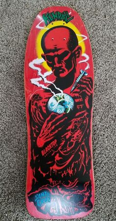 original Jeff Kendall limited blacktop skateboard mint Vintage Skateboards, Archery Equipment, Skate Style, Kendall, Old School, Mint, The Originals, Skateboarding, Skateboard