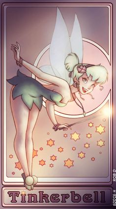 TinkerBell poster by *EddieHolly