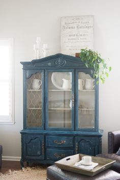 Hello all! Sally here, I talked my sweet sister Josie into driving to my home ( an hour away from her farm) and helping me to re create a hutch she just did in her home. I had to have one for myse…