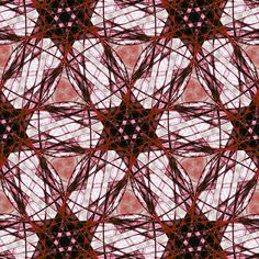 #digital #art #design #abstract #algorithm #fractal #attractor #six #hex #cyclic #symmetry #quilt