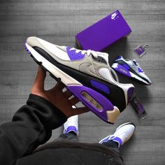 Nike Air Max 90 Now (Was Style Code : Available at : Allike - Afew Store - - Asphaltgold - BSTN Store - Nike EU - Footlocker EU - END. Nike Air Max 90s, Nike Air Jordans, Retro Jordans 11, Air Max Sneakers, Sneakers Mode, Sneakers Fashion, Nike Sneakers, Nike Air Flight, Nike Basketball Shoes