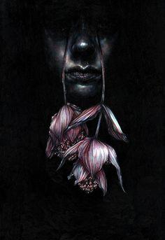 Marco Mazzoni - Tearwalker, 2015 - Colored pencils on paper - cm 48x33