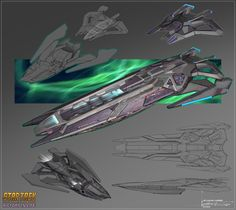 Star Trek Online, New Star Trek, Star Wars, Spaceship Design, Spaceship Concept, Studios, Sci Fi Spaceships, Star Trek Images, Star Blazers