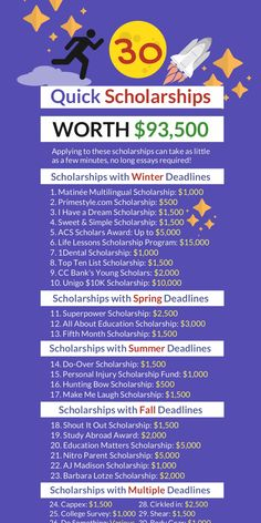Scholarships For College Students, Student Scholarships, Financial Aid For College, College Planning, College Life Hacks, Life Hacks For School, School Study Tips, College Tips, College Cheerleading