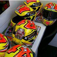 Aleix EsPargaro Racing Helmets, Soccer Ball, European Football, European Soccer, Soccer, Futbol