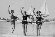 Seaside Boating...1927