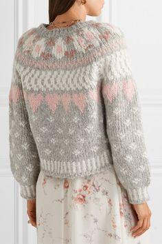 Nordic Sweater, Floaty Dress, Fair Isle Knitting, Things To Buy, Knit Cardigan, Ready To Wear, Fancy, Wool, Sweaters