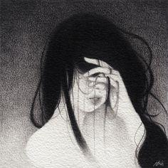 Image of ORIGINAL DRAWING: Hanako
