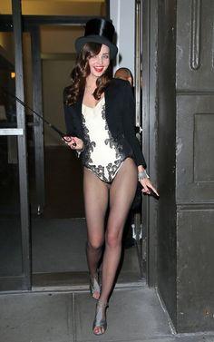 Miranda Kerr Ringmaster Costume