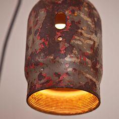welding cap light fixture