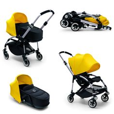 Bugaboo Bee 3. In love! Best light weight stroller out there and at StrollerMama!