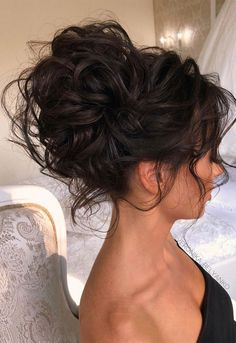 Wedding Hairstyles For Long Curly Hair Updos Ideas - 3 stunning updos that you can do yourself Bridesmaid Hair Updo, Bridal Hair Updo, Wedding Hair And Makeup, Diy Wedding Updos For Long Hair, Hair Updos For Weddings Guest, Wedding Hair Tips, Curly Wedding Hair, Wedding Blog, Up Dos For Medium Hair