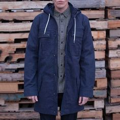 Fancy - Bancroft Trench Coat by Wolf & Man