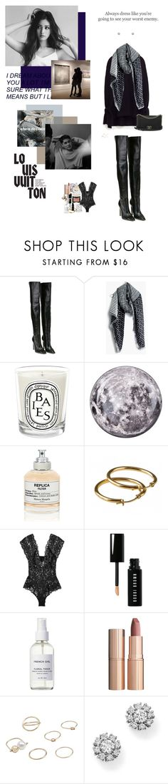 """""""Ever since I left the city, you, you, you You and me we just don't get along You make me feel like I did you wrong Going places where you don't belong"""" by oohlalyla ❤ liked on Polyvore featuring Balenciaga, Madewell, Diptyque, Seletti, NARS Cosmetics, Louis Vuitton, Maison Margiela, Etiquette, La Perla and Chanel"""