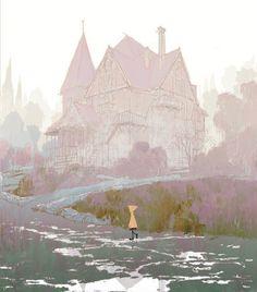 visual development for Coraline (2009)