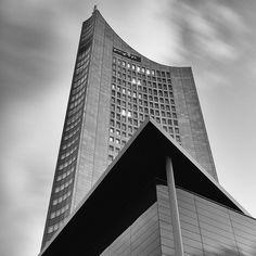 City-Hochhaus Leipzig, Germany http://www.travelandtransitions.com/destinations/destination-advice/europe/