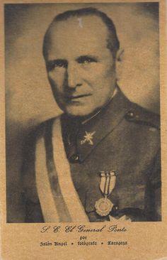 General Ponte. #VarisFranquisme #CRAIBibrepublica Civilization, Ww2, Spanish, 1975, Movies, Movie Posters, War, Period, Films