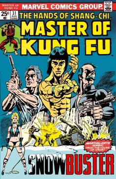 Master Of Kung Fu #31 Cover Art by Paul Gulacy